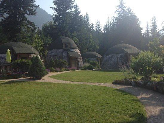 The Domes: 4 cottages for rent