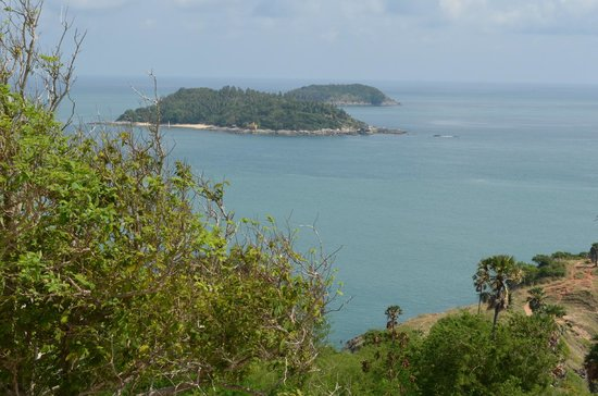 Promthep Cape : A view towards Andaman Sea.