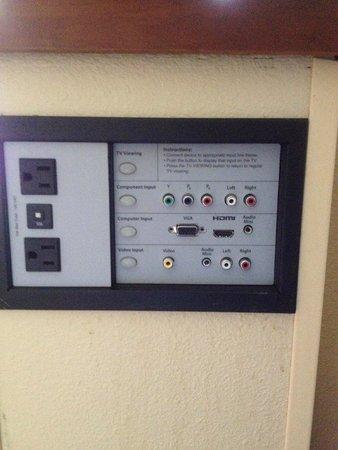Hyatt Place Albuquerque/Uptown: Audio/Visual Options for TV