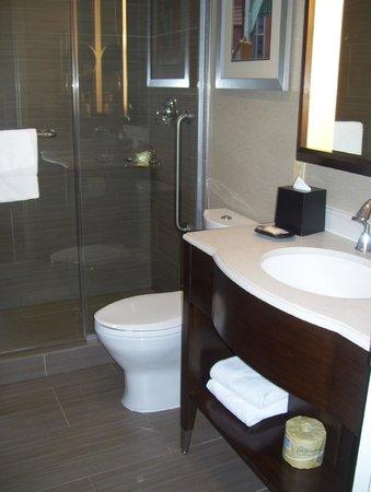 Sheraton Brooklyn New York Hotel : bathroom with shower