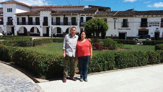 Real Cecina: En la plaza de armas de Chachapoyas