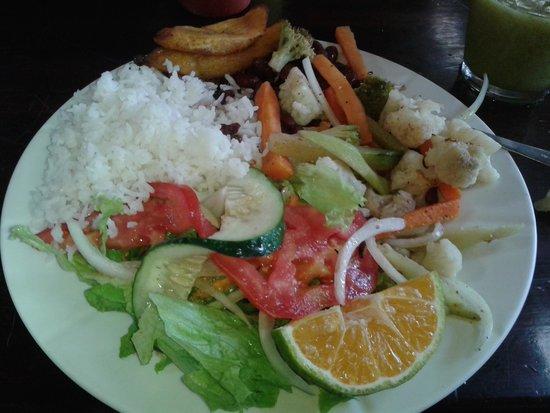 Tortilla Flats: veggie casada