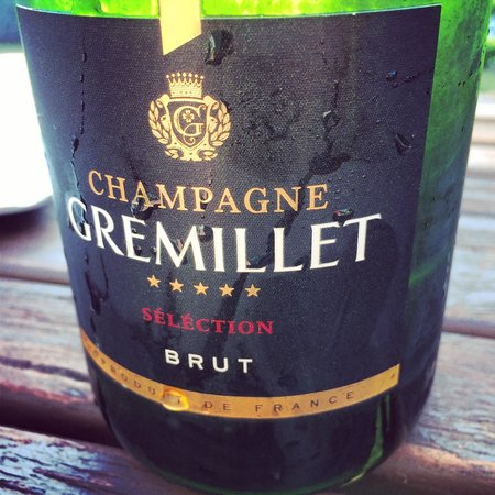 Limestone: spectacular champagne and well priced..