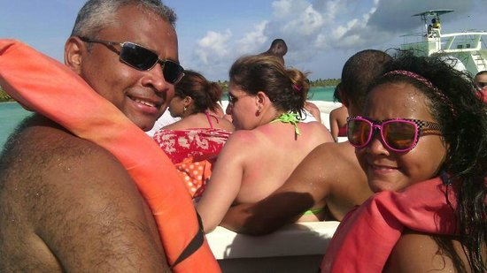 Isla Saona: Me and Mariafd