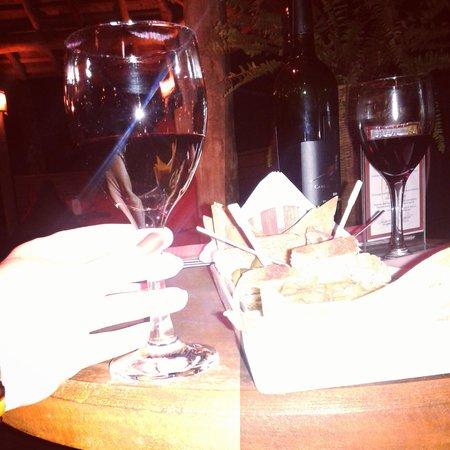 Shambhala Lounge: vinho de qualidade