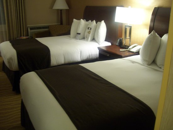 DoubleTree by Hilton Hotel Burlington: beds