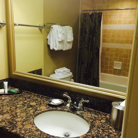 Hilton Grand Vacations at Tuscany Village: Bathroom