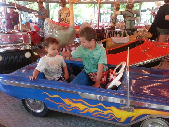 Knoebels Amusement Resort: They have a great kiddie ride area.
