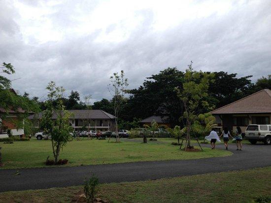 Papai Country Lodge : วิวตึกใหม่ เพิ่งเปิดให้บริการ ทีมผมเป็นทีมแรก
