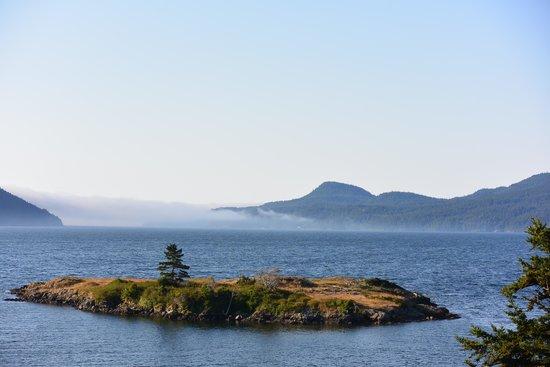 Outlook Inn on Orcas Island: Patio View