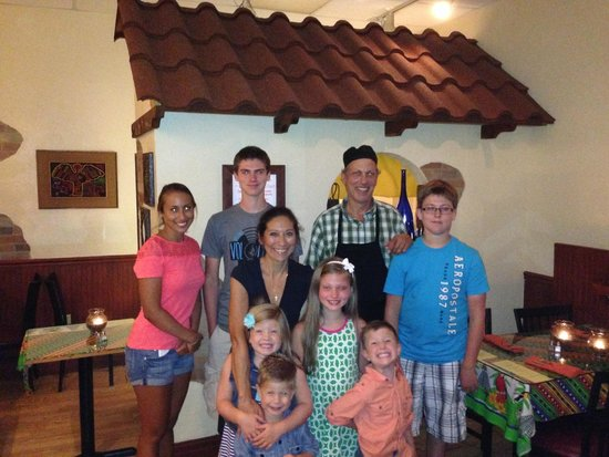 Senor Siesta with Family
