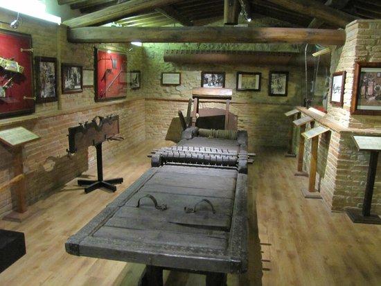 Museo Storico Della Tortura: une des salles