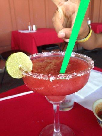 Jesus Restaurant : Strawberry margarita