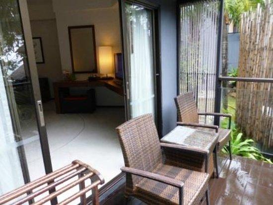 Beyond Resort Krabi: Verandah of villa.