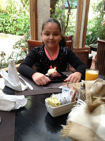 Guayaba Inn: Celebrating my daugter's birthday