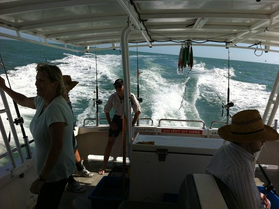 Arafura Bluewater Charters: Cruising to our next location