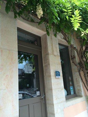 Vign'appart: Hotel frontdoor