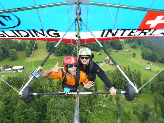 Hang Gliding Interlaken : fly