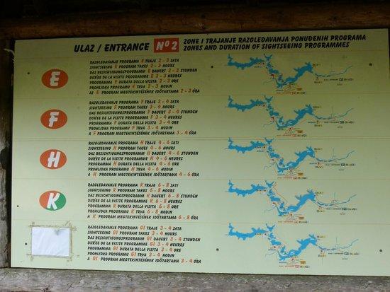 Plitvice Lakes National Park : モデル散策コース2