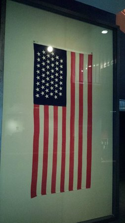 New Mexico History Museum : American Flag