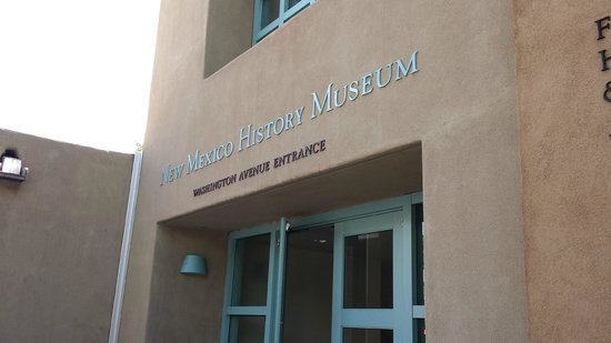 New Mexico History Museum : Museum Front