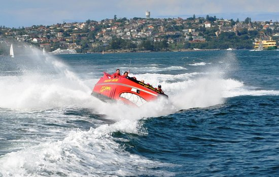 Oz Jet Boating Sydney Harbour: Wooohoo!