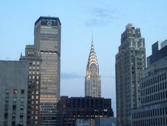 Sofitel New York: The Magnifique Chrysler Building from our Suite window