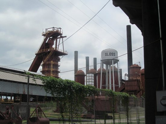 Sloss Furnaces National Historic Landmark : Overview of Sloss Furnace