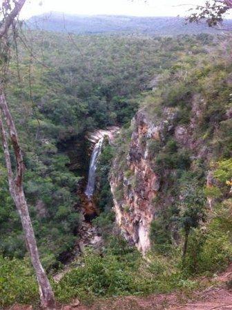 Mosquitos Waterfall: mirante, no início da trilha