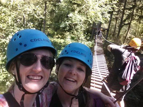 Zip San Juan: Suspension bridge fun!