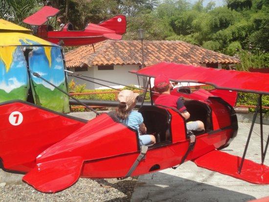 Parque del Café: Carrusel de avionsitos