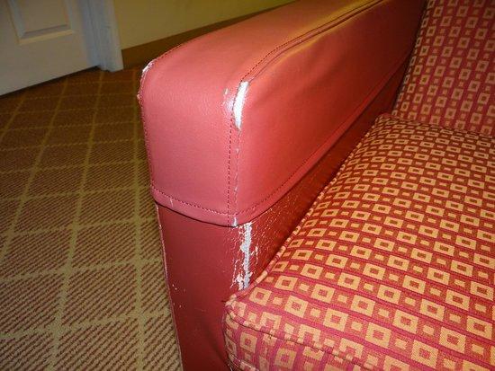 Residence Inn Seattle Downtown/Lake Union: beat up furniture
