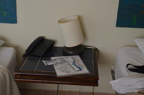 Coche Paradise Hotel Isla Margarita: telefono que no funcionaba