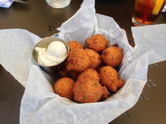 Sweet T's Restaurant & Bar: Hush Puppies with Honey Butter