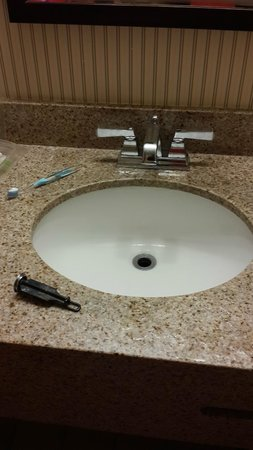 Adam's Mark Hotel & Conference Center: Sink