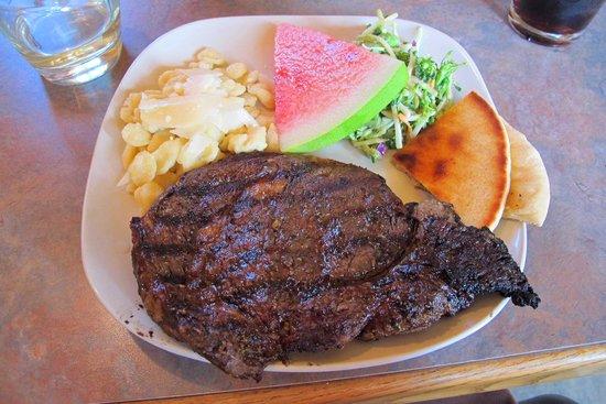 Canyon Springs Stage Stop Steakhouse: 12oz Ribeye