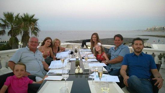 Quadro Restaurant at The Westin Dragonara Resort: Simply the best