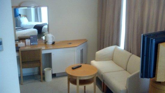 Shinagawa Prince Hotel Tokyo : Upgraded room