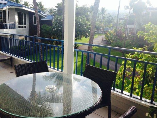 Holua Resort at The Mauna Loa Village : Large Balcony