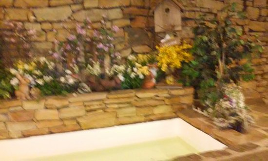 Mountain Laurel Resort & Spa: Fake flower eye sore