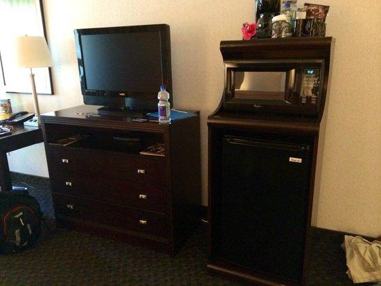 Carlsbad by the Sea Resort: TV, fridge, Microwave & coffee