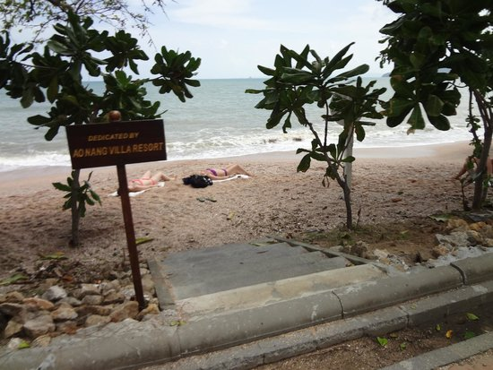 Aonang Villa Resort : View from Resort Entrance