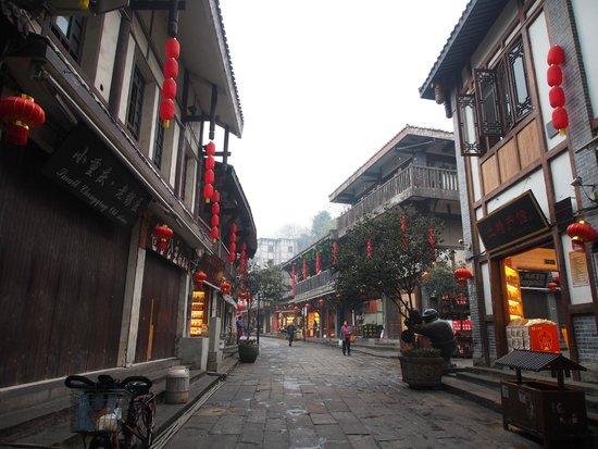 Ci Qi Kou (Porcelain Village): The building in this place