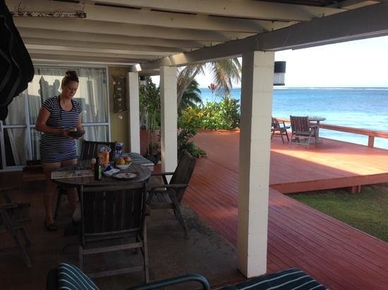 Main Islander On The Beach Holiday Properties: deck