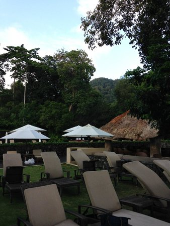 The Datai Langkawi: The Beach Club view