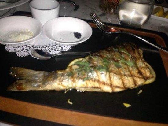 Rivabella Ristorante: Fresh Trout at Riva Bella