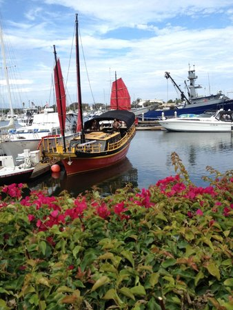 Ventura Pier and Promenade: Pirate Ship at the Ventura Pirate Day