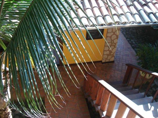 Pousada Konquista: Vista da janela do quarto