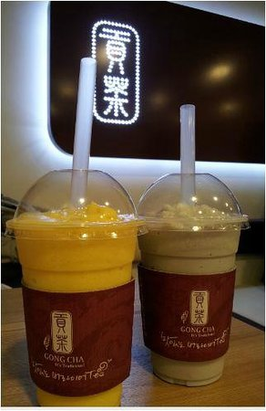 Gong Cha Gangnam Station Glass Tower
