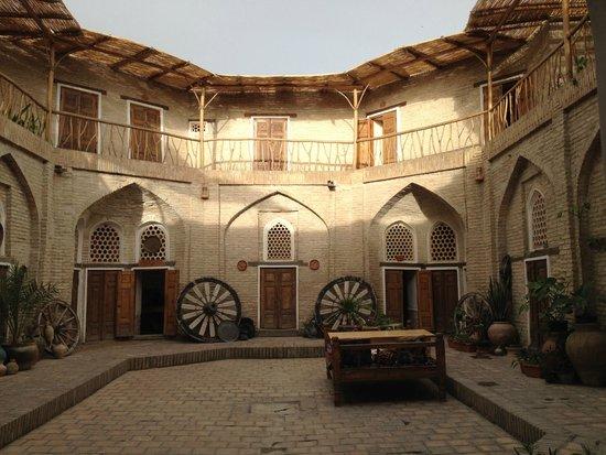 Amulet Hotel : Здание Караван-Сарая отеля Амулет, Бухара